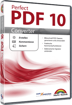 Perfect PDF 10 Converter - XPS-Dateien konvertieren