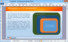 PDF Xpansion SDK Präsentation